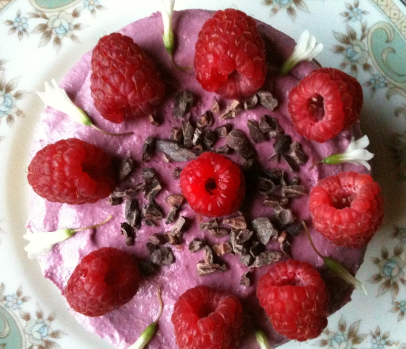 raspberryrosecake